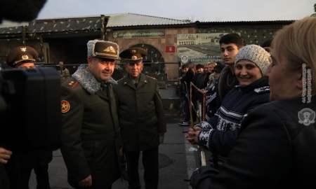ՀՀ զինված ուժերի գլխավոր շտաբի պետն այցելել է կենտրոնական հավաքակայան