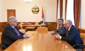 Արցախի նախագահն ընդունել է ՀՅԴ բյուրոյի ներկայացուցիչ Հակոբ Տեր-Խաչատրյանին