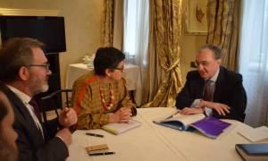 ՀՀ արտգործնախարարը հադիպել է Եվրոպական Միության և համագործակցության նախարարի հետ