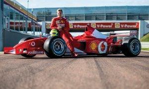 Լոնդոնում վաճառքի է հանվել Շումախերի առաջին Ferrari-ն