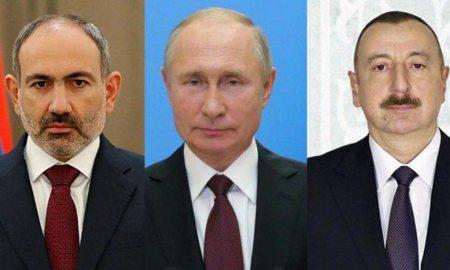 pashinyan putin aliyev