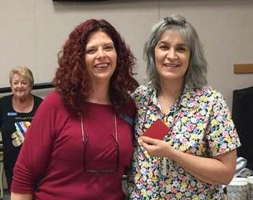 Kelli and Limbania Osredher gift card winner Chandler 35th Ave