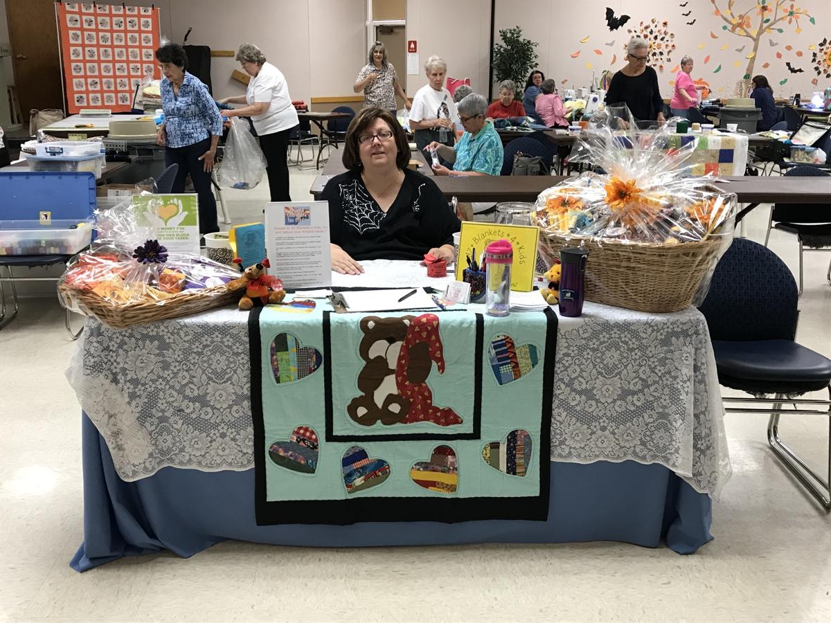 Nancy Gilman welcome table
