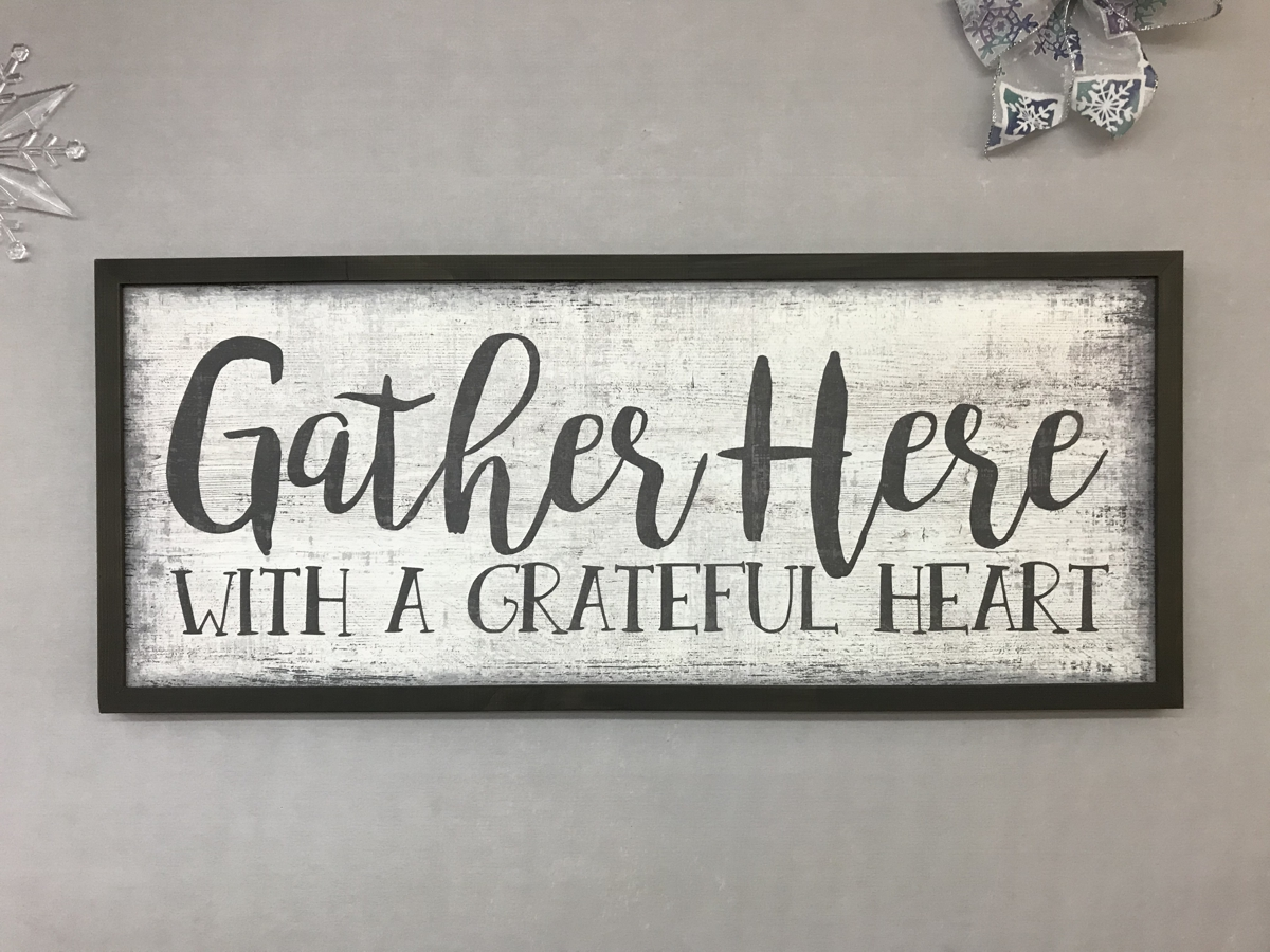 gather grateful