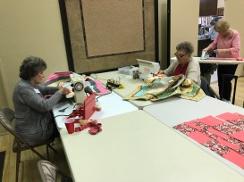 Quilting friends from Palmas del Sol.