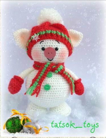Teddybären und Winnie die Amigurumi häkeln | 482x373