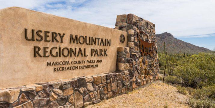 Az Camp Guide Buckhorn Campground Usery Mountain
