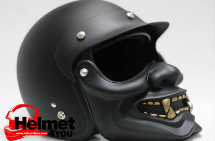 Crazy Face Motorcycle