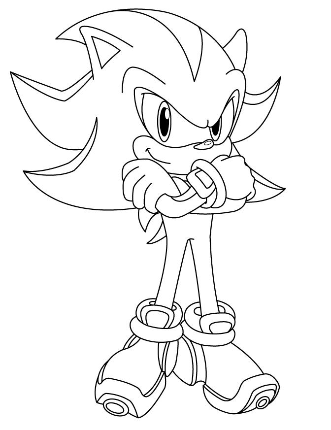 Super Sonic Para Dibujar Facil - Find Gallery