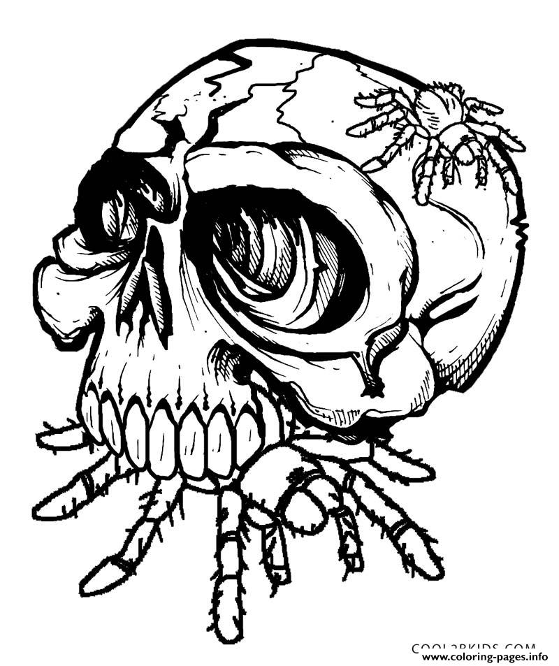 candy skull rose tattoo designs sketch coloring page