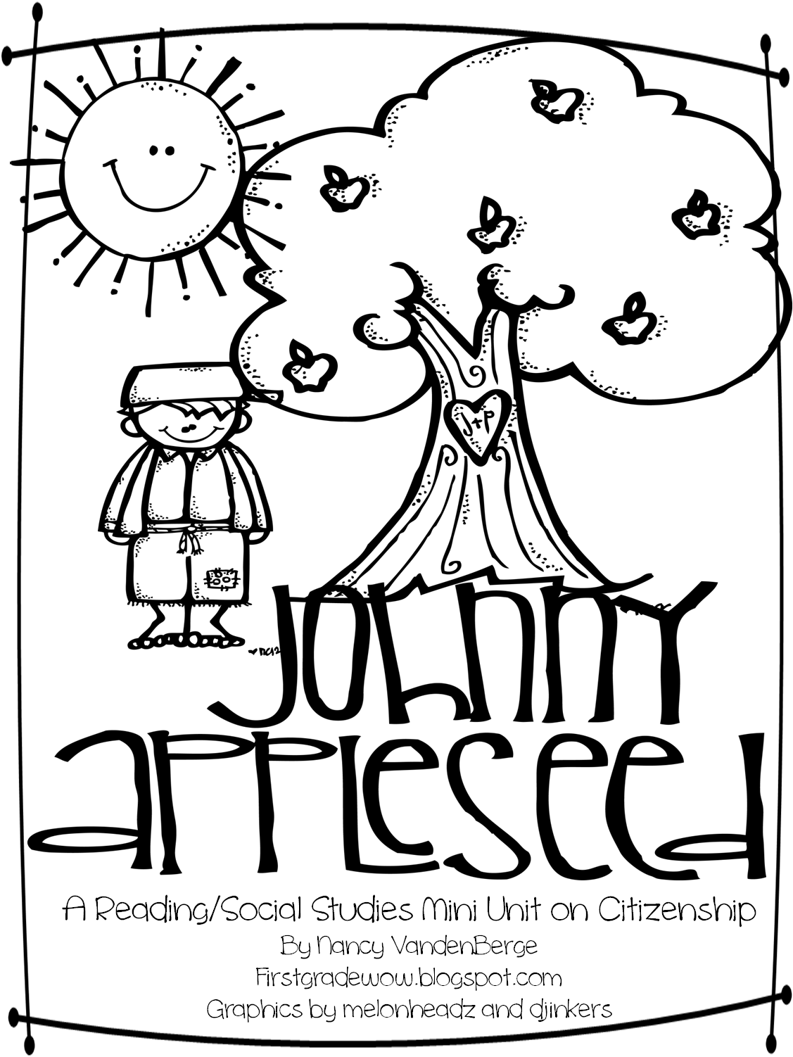 Johnny Appleseed Sequence Worksheet