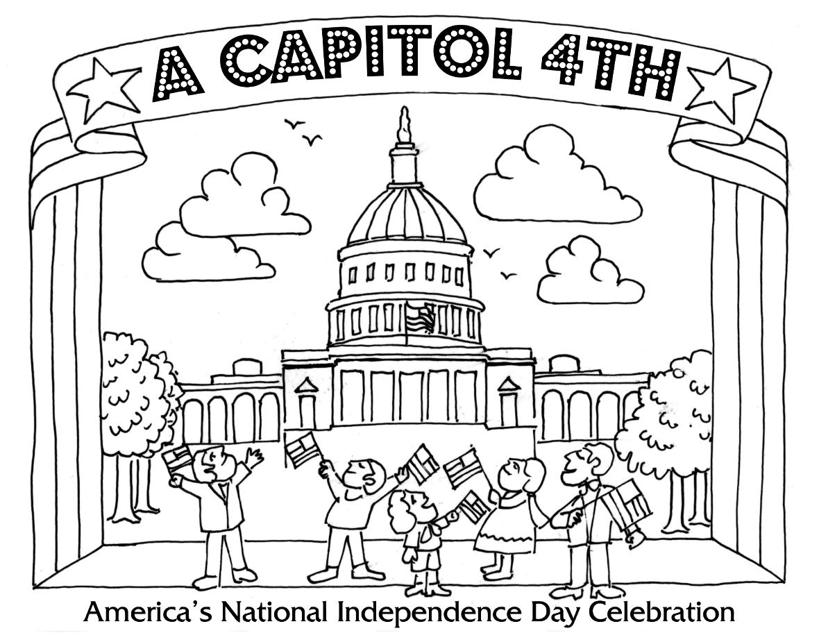 Washington Dc Coloring Pages