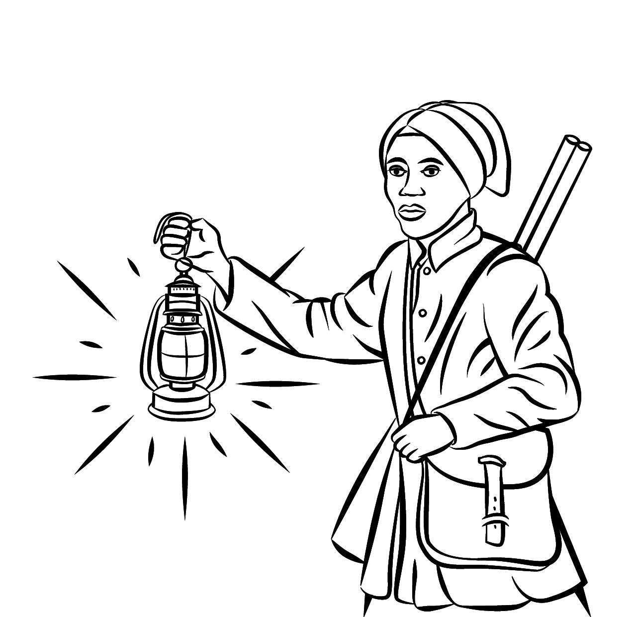Underground Railroad Pages Coloring Pages