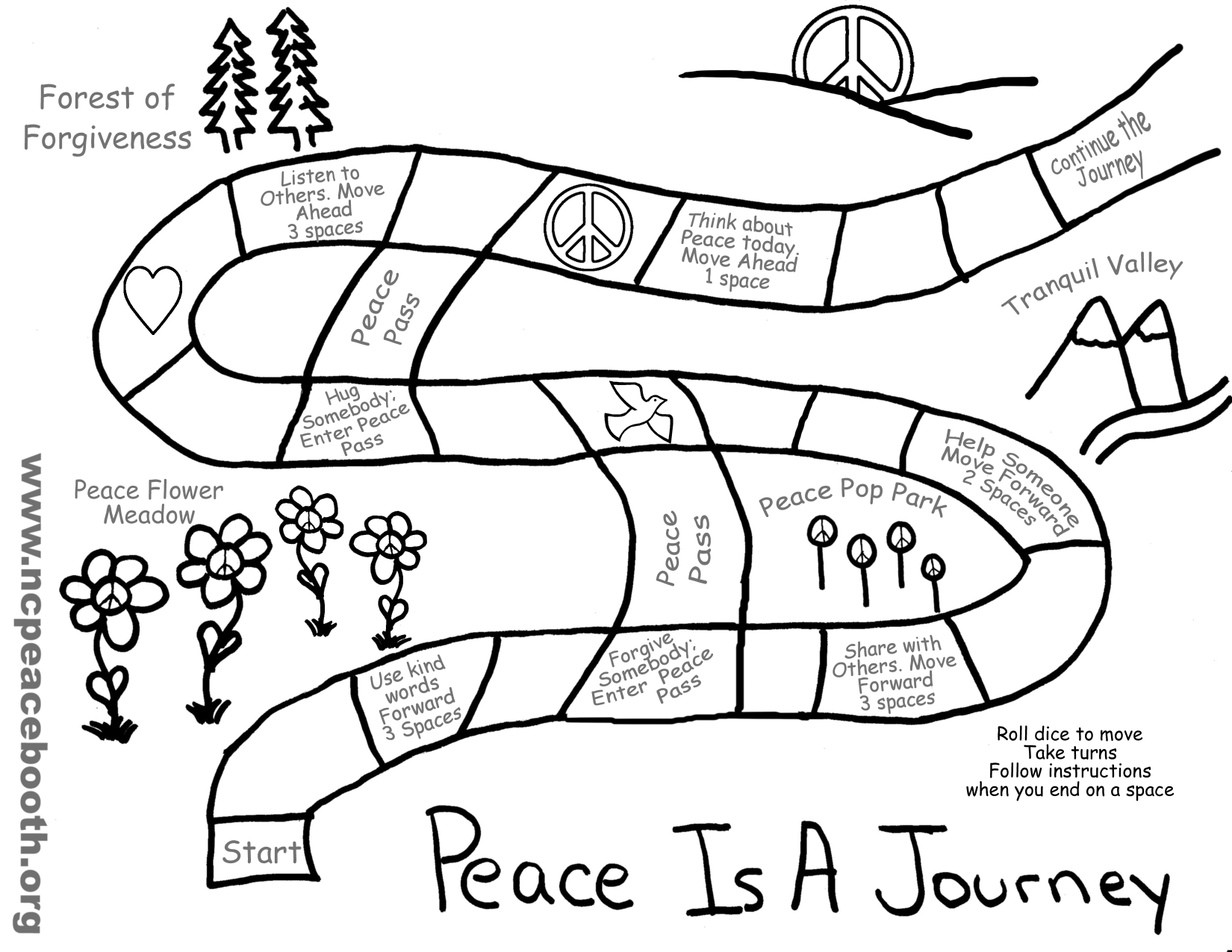 World Peace Coloring Pages