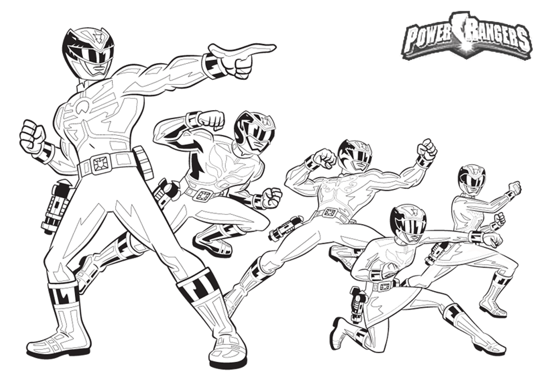 Mmpr Coloring Pages