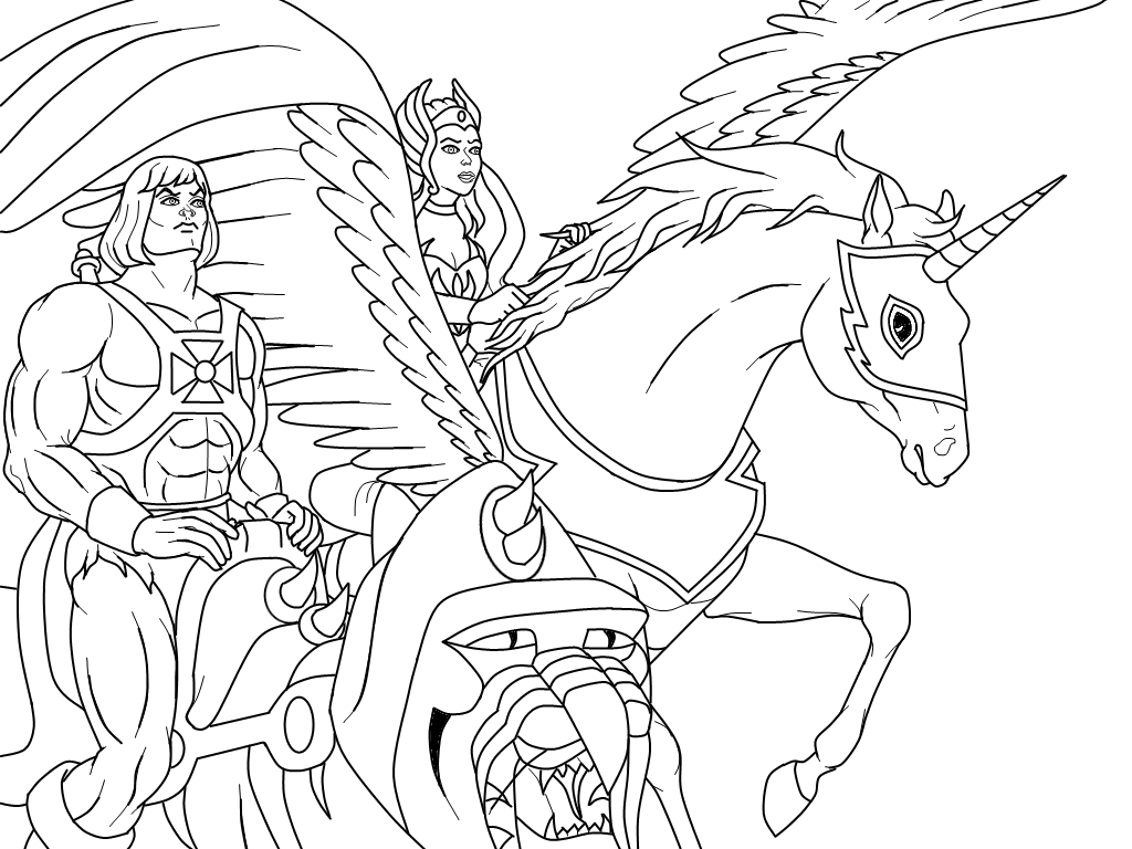 Masters Coloring Pages