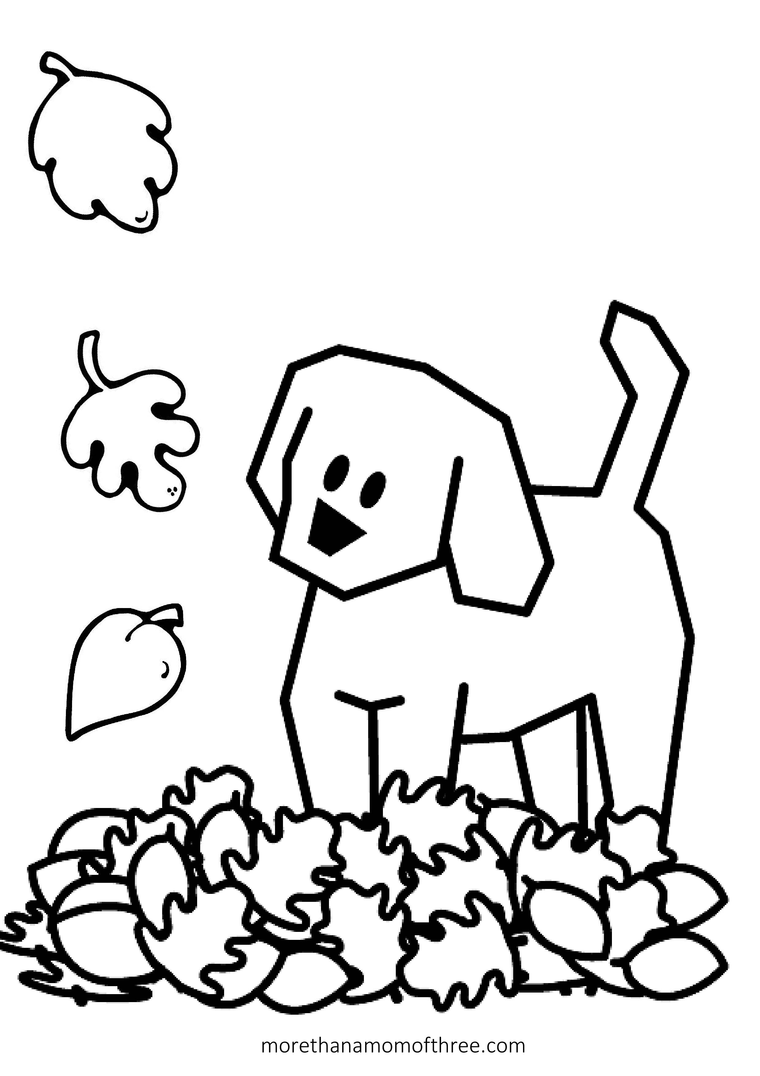 Fall Coloring Pages Printable Free