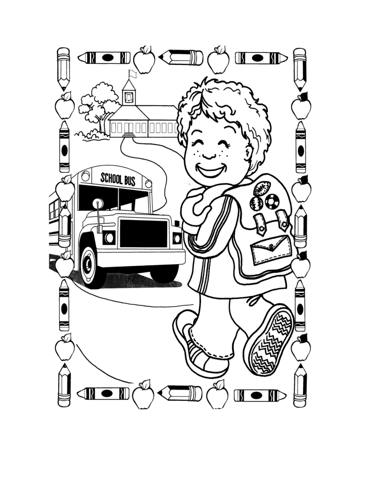 Printable Cooperation Coloring Pages For Kindergarten
