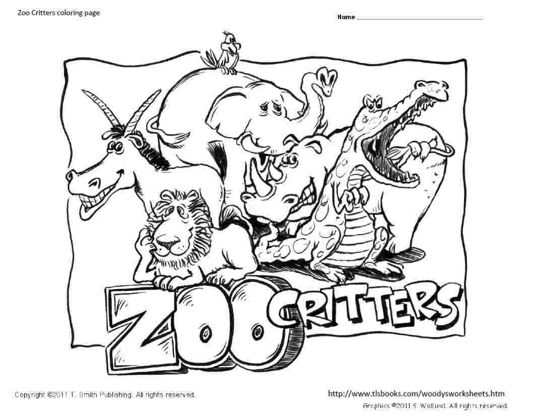 Zoop Coloring Pages
