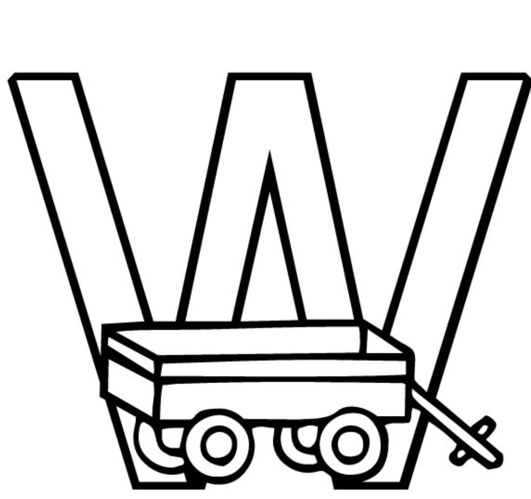 Cover Wagon Coloring Pages