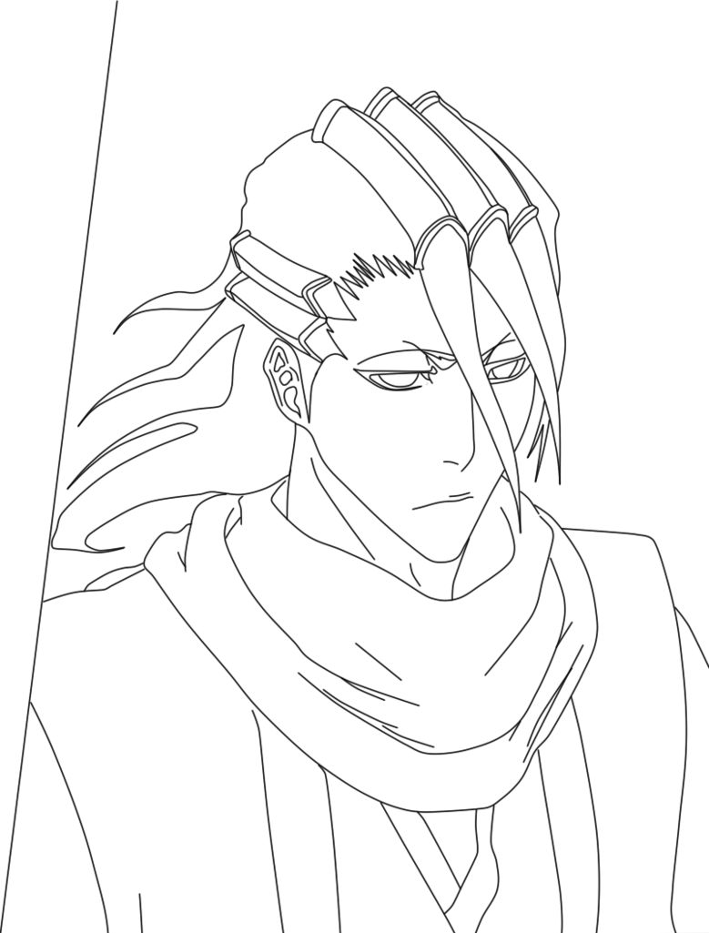 Bleach Grimmjow Coloring Pages Coloring Home