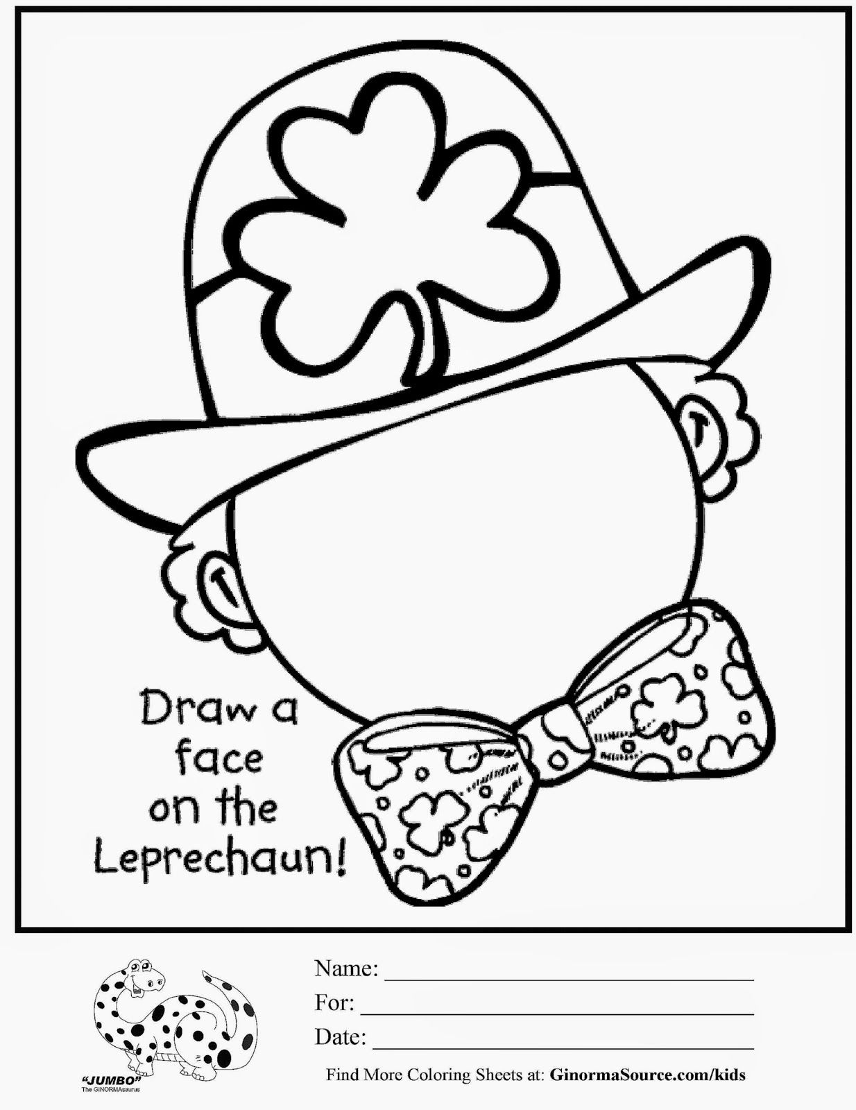 St Patricks Coloring Pages For Adults To Color