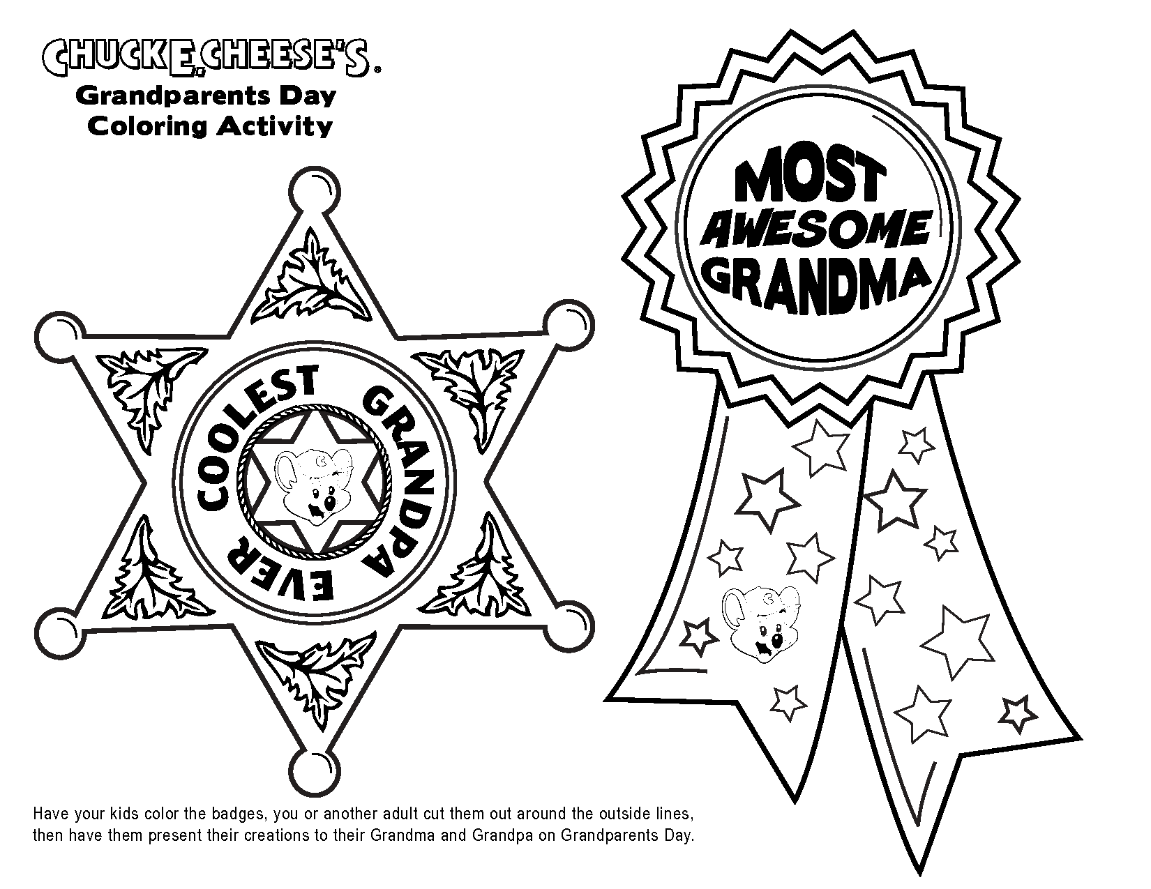 Free Birthday Coloring Pages For Grandpa
