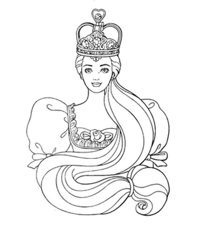 heart princess crown coloring sheet coloring pages