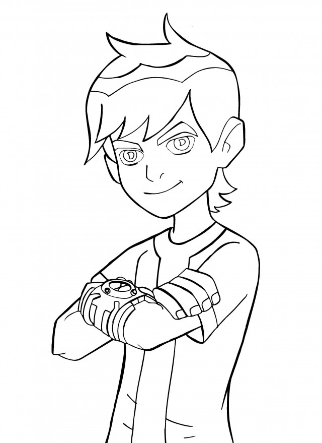 Ben 10 Printable Coloring Pages AZ Coloring Pages