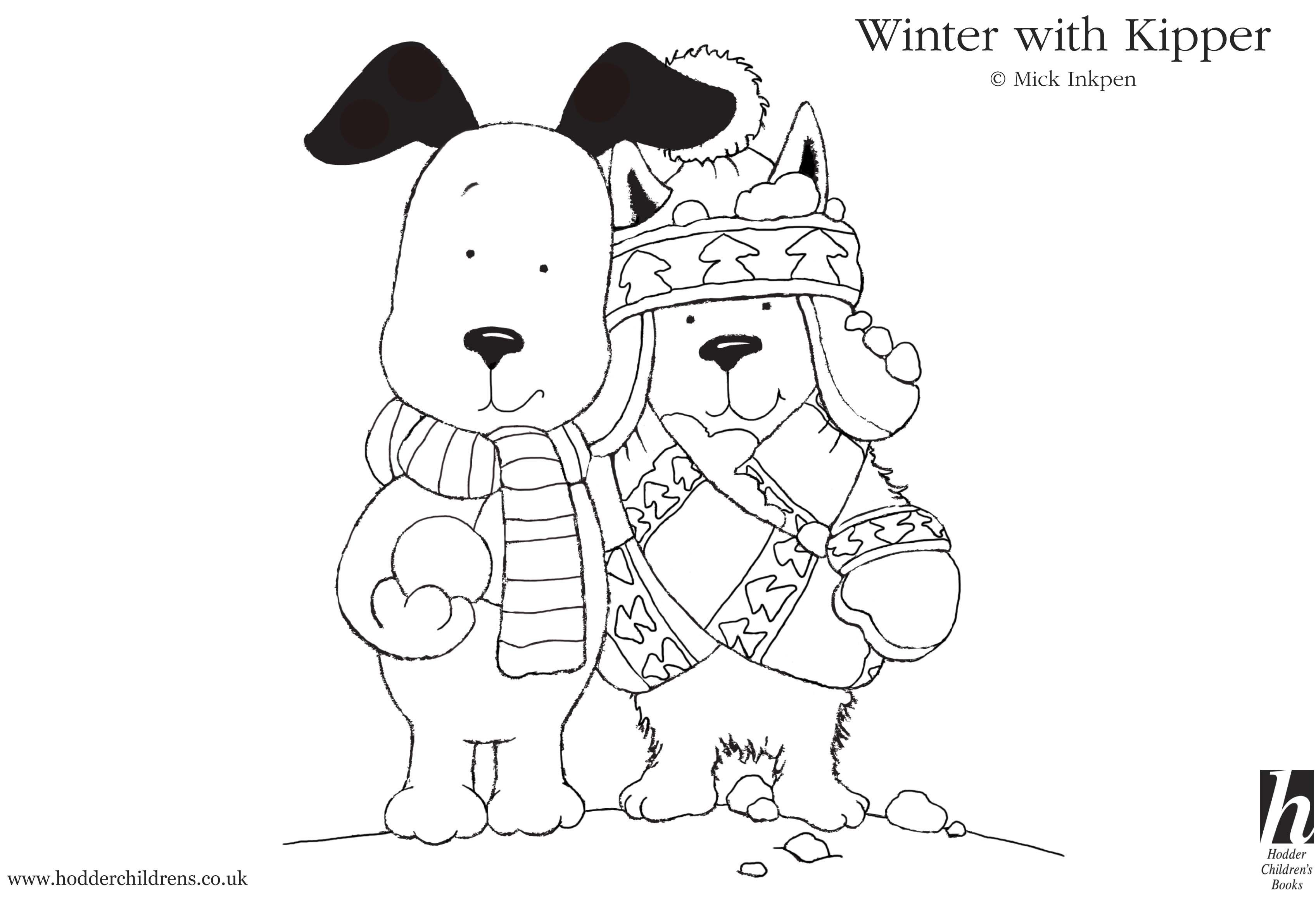 Kipper The Dog Coloring Pages