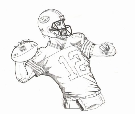 Green Bay Packers Coloring Pages Coloring Home