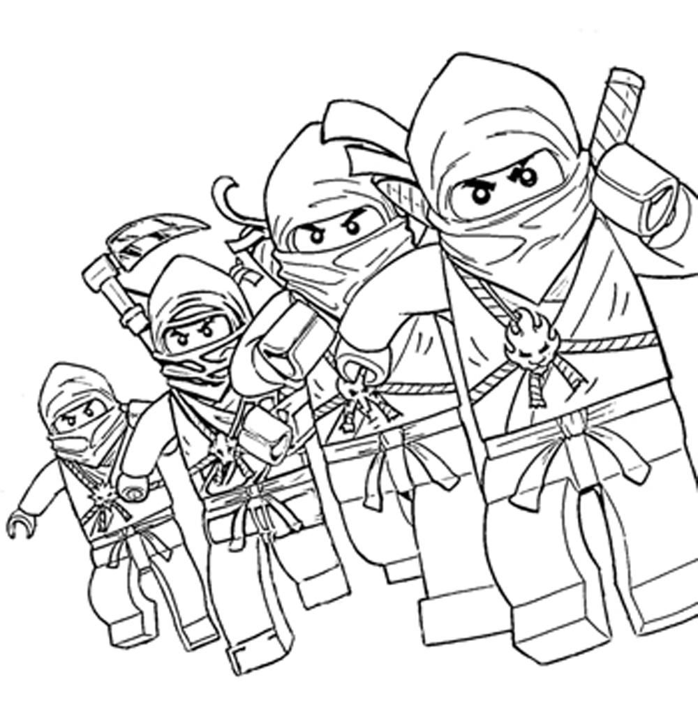 Free Printable Lego Ninjago Coloring Pages Coloring Home Coloring Pages