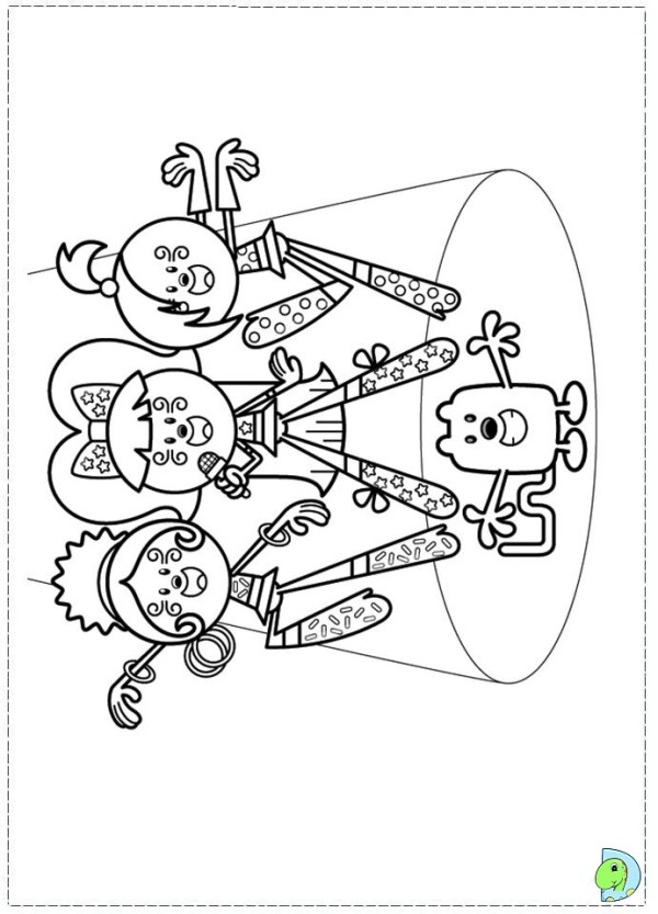 wow wow wubbzy coloring pages # 27