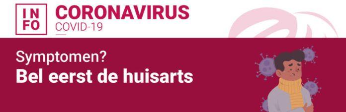 Symptomen  Bel Eerst De Huisarts Banner