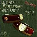 AZE Lil Red's Woodsman Wrist Cuffs Mens Poster 512