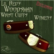 AZE Lil Red's Woodsman Wrist Cuffs Womens Poster 512