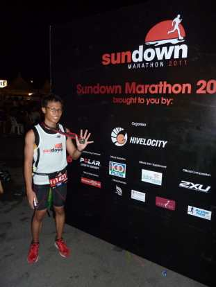 Me after the race.