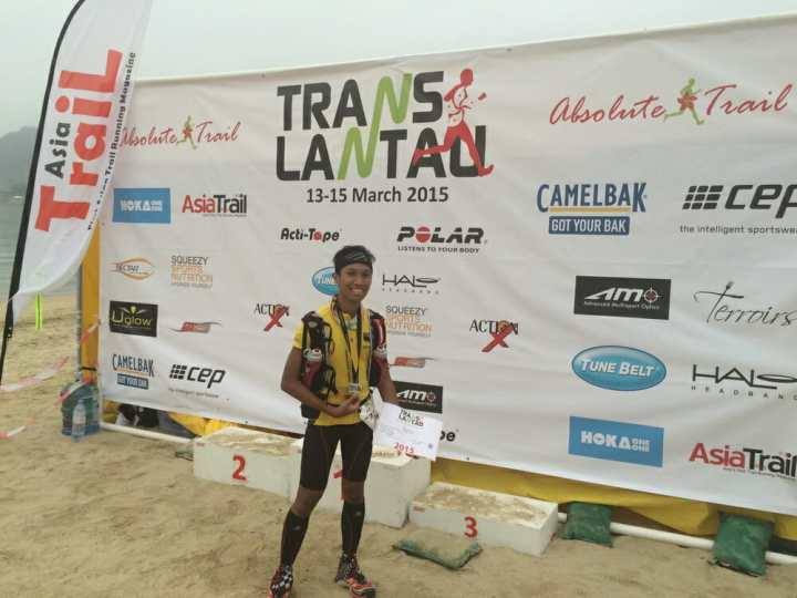 Translantau - At the finish line