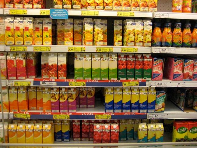 Tesco supermarket juices by Echoplex7