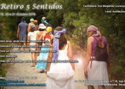 Retiro 5 SentidoS – 19 Out 2018