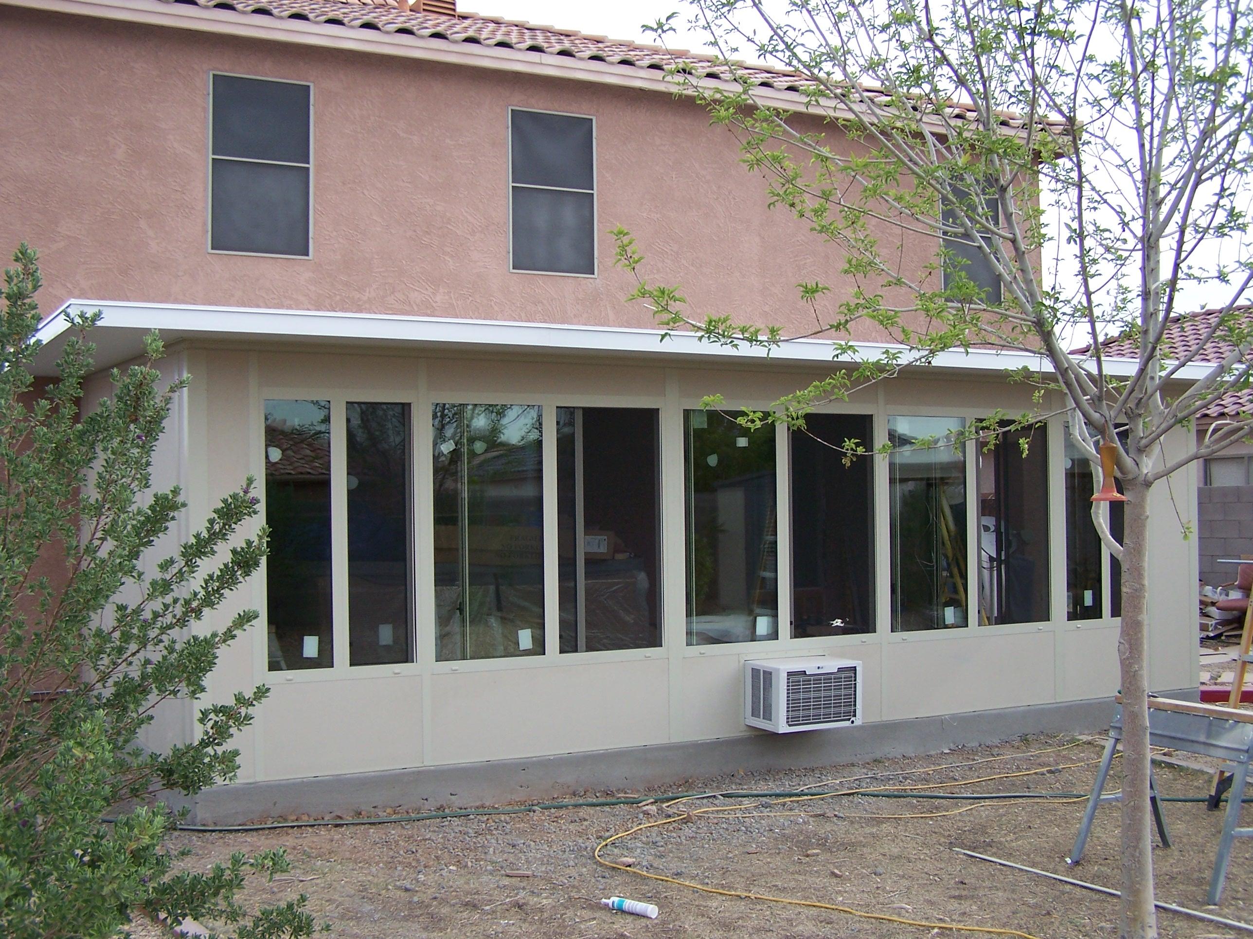 Straight Eave Patio Enclosures - Arizona Enclosures and ... on Patio Enclosures  id=68442
