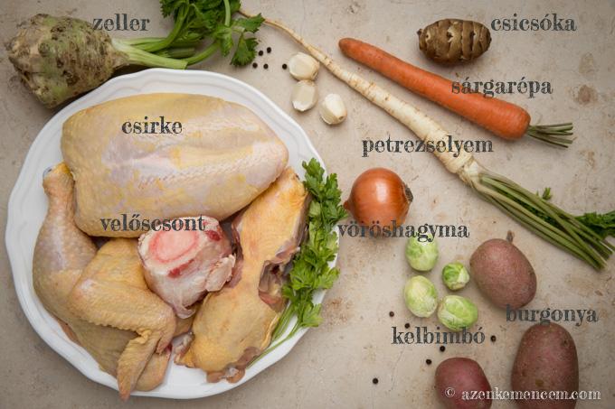 Vasárnapi csirkehúsleves