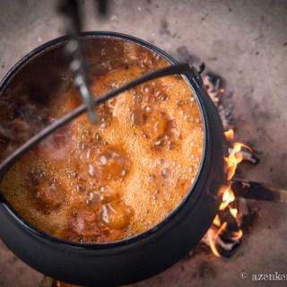 Bajai halászlé házi készítésű tésztával