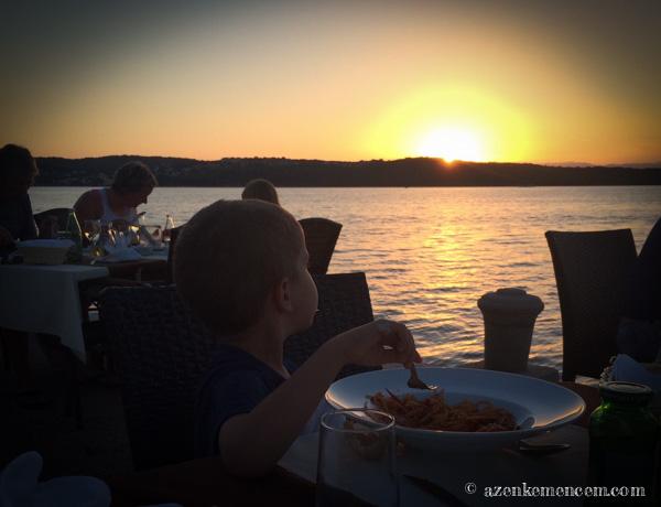 Horvátország - Klimno - Krk - Restaurant Zal
