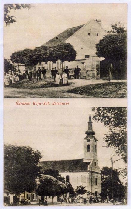 Bajaszentistván - Katolikus Templom - a búcsú helyszíne