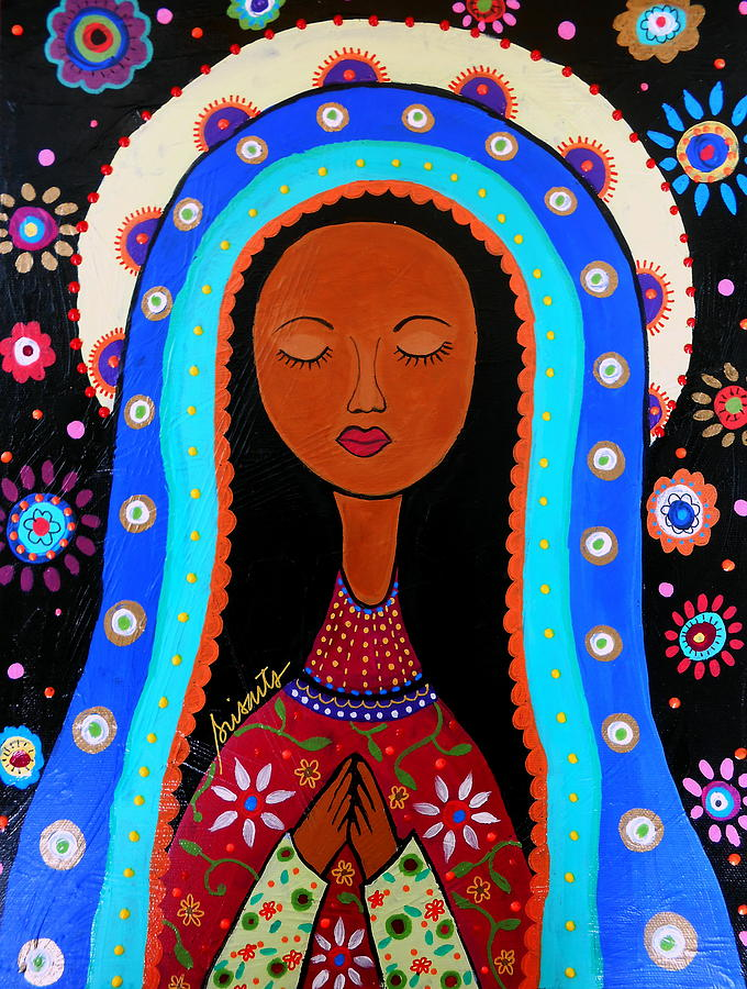 Our lady of virgin Guadalupe by Pristine Cartera Turkus