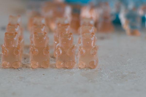 Rozé gumicukor - a cuki maci hadsereg