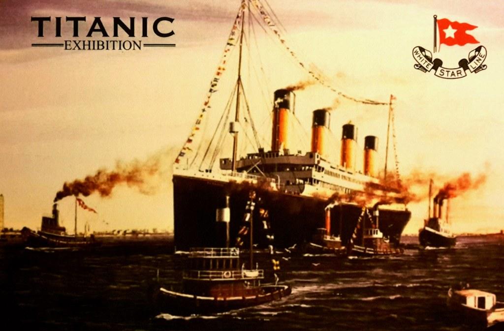 KÉP / Titanic kiállítás (Budapest)