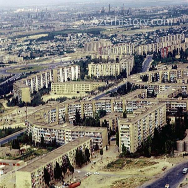 «Спальные» районы Баку: конец 70-х – начало 80-х (ФОТО)