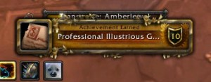 One profession down - Alchemy!